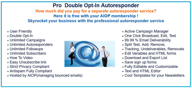 AIOP autoresponder advantadges